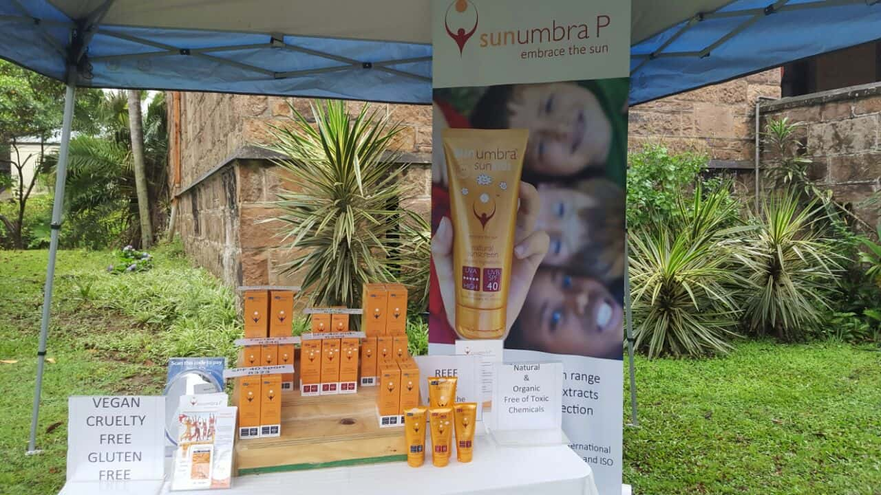 Sunumbra P Stand at KZN Trail Running Event Jan'17 (1)